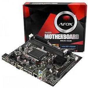 Placa Mae Desktop Intel 1155 H61-MA5-V2 (1155/DDR3/HDMI/VGA/USB2.0) Afox