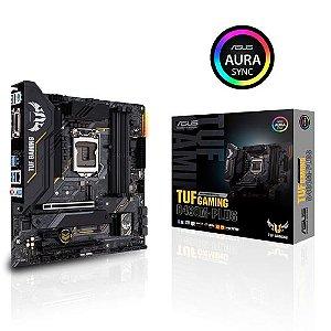 Placa Mãe Desktop Intel 1200 Gaming B460M-PLUS Asus