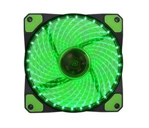 Cooler para Gabinete 120mm GMX-GF12G Verde GameMax