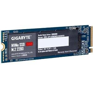 Ssd 256GB M2 2280 NVME PCIE 3.0 X4 - GP-GSM2NE3256GNTD Gigabyte