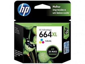 Cartucho Original Hp 664xl Colorido Inkjet