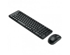 Kit Mouse e Teclado Sem Fio MK220 Logitech