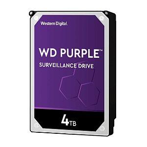 Hd Desktop e Cftv Interno Sata 3 64mb 4tb WD40PURZ Western Digital