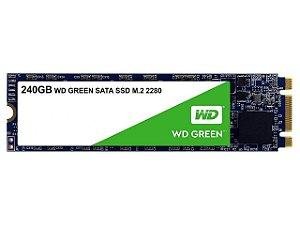 Ssd 240gb M2 2280 Wd Green Sata 3 3D WDS240G2G0B