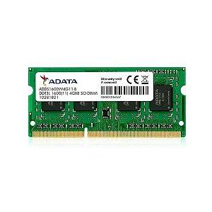 Memoria Notebook 4gb DDR31600MHZ ADDS1600W4G11S Adata