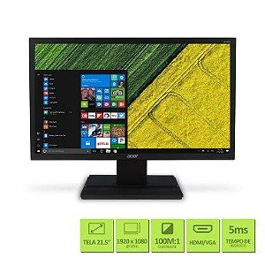Monitor Led 21,5 Full HD Hdmi / Dvi  V226HQL Acer