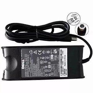 Fonte para Notebook Dell Inspiron Latitude Bivolt 19,5 4.62A - Plug Fino Novo