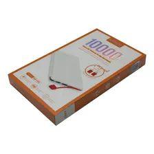 Carregador Portátil 10000mah Power Bank KD228 Kaidi Branco