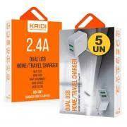 Carregador de Celular USB KD-301 Kaidi