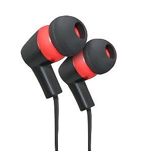 Fone de ouvido Intra-auricular com Microfone STR08BKRD ELG