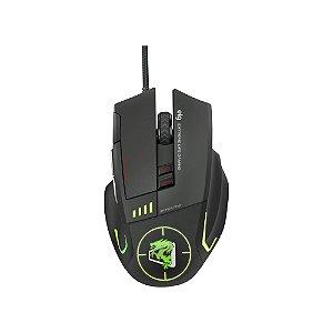 Mouse com Fio Gamer Sniper PRO 5200 DPI - MGSP ELG