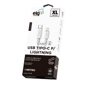 Cabo de Celular Type-C para Lighting TCL10 ELG