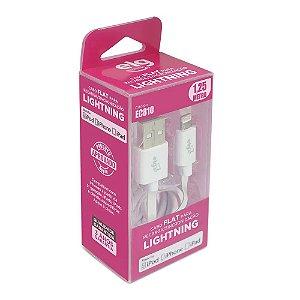Cabo de Celular iPhone Lighting EC810 Certificado Apple ELG