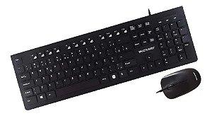 Kit Mouse e Teclado Com Fio TC240 Multilaser
