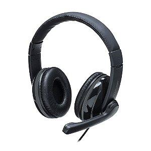Fone de Ouvido Headset Usb Preto PH317 Multilaser