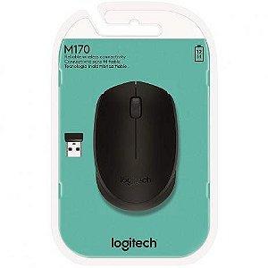 Mouse Sem Fio M170 Preto Logitech
