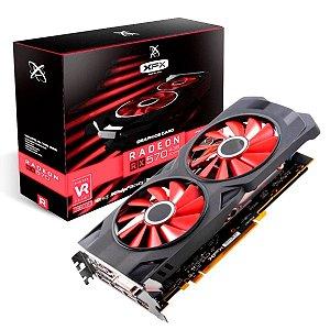 Placa de Video Radeon Rx 570 Red Dragon 4gb 256bit Ddr5 4GBD5DHDV3OC Power Color