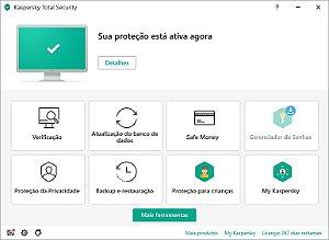 Kaspersky Total Security - 5 Computador para 1 ano
