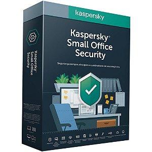 Kaspersky Small Office Security - 25 Usuários /  25 Mobile / 25 Desktop / 3 Servidor - 1 ano