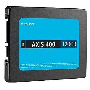 Ssd 120gb Sata 3 Axis 400 SS101BU Multilaser
