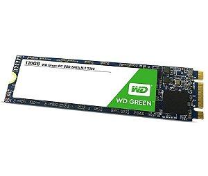 Ssd 120GB M2 SATA 3 3D WDS120G2G0B Wd Green