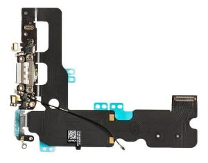 Flex Conector Carga Dock Usb Microfone Iphone 7 Plus
