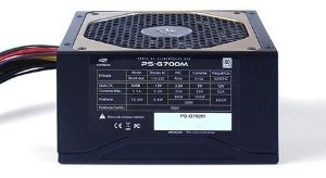 Fonte de Alimentação Atx Desktop 700w Semi Modular 80 Plus PSG700M C3tech