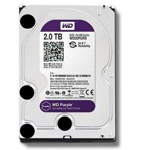 Hd Desktop e Cftv Purple Interno Sata 3 2tb WD20PURZ Wd