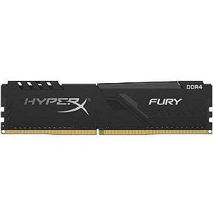 Memoria Desktop 8gb DDR4 2666Mhz HX426C16FB3/8 Hyperx Fury Black