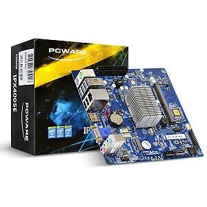 Placa Mae J4005 Intel Celeron Dual Core Ddr4 Vga/Hdmi/Serial/M.2 IPX4005G PCWare