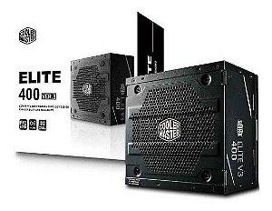 Fonte de Alimentação Atx Desktop 400W Elite V3 Full Range Cooler Master