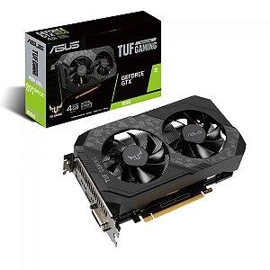 Placa de Video Asus Geforce Tuf Gaming GTX 1650 OC 4gb - GDDR6 -  Hdmi/Displayport/Dvi - Tuf-GTX1650-O4GD6-P-Gaming