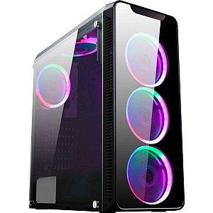 Gabinete Desktop Gamer Infity I CG-01G8 Kmex