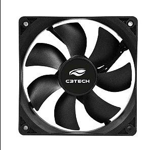Cooler Gabinete 8cm F7-50BK Storm C3tech