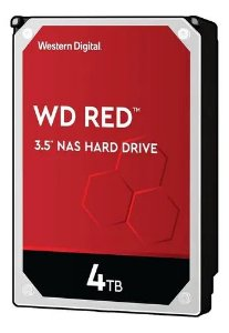 HD Desktop Interno Sata Nas 4tb para Servidor 24x7 WD40EFAX Wd