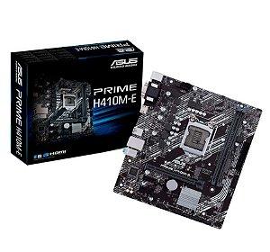 Placa Mae Desktop Intel 1200 10 Geracao H410ME Ddr4 Asus