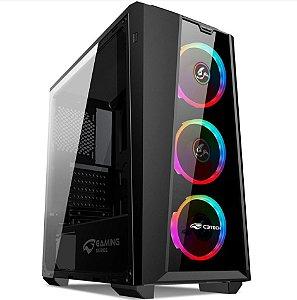 Gabinete Desktop Gamer MT-G800BK RGB C3tech