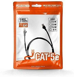 Cabo de Rede 1.5m Rj45 Cat5e PC-ETHU15BK RJ45 Plus Cable