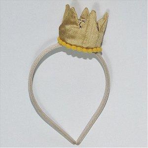 Tiara - Coroa Dourada