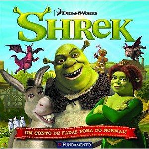 Livro Shrek - Um Conto de Fadas Fora do Normal! (DreamWorks)