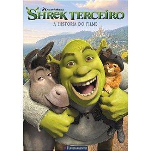 Livro Shrek Terceiro - A História do Filme (DreamWorks)