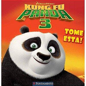 Livro Kung Fu Panda 3 - Tome Esta! (DreamWorks)