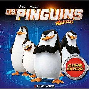 Livro Os Pinguins de Madagascar - O Livro Do Filme (Dreamworks)