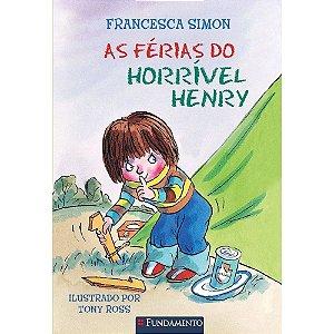 Livro Horrível Henry - As Férias do Horrível Henry