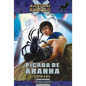 Livro Aventuras Radicais - Picada de Aranha