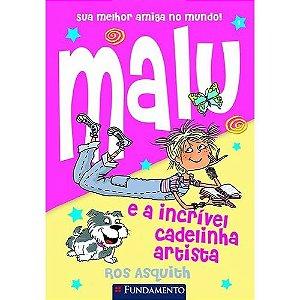 Livro Malu e a Incrível Cadelinha Artista