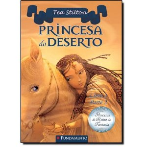 Livro Princesas do Reino da Fantasia - Princesa do Deserto - Parte 2
