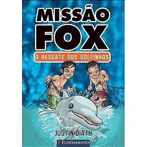 Livro Missão Fox: O Resgate dos Golfinhos
