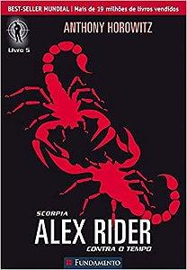Livro Alex Rider - Scorpia