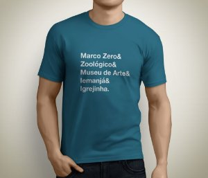 Camiseta Longão da Pampulha